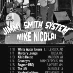 Jimmy Smith - Mike Nicolai Tour Poster 11-2015